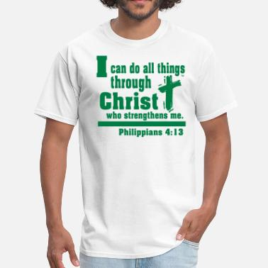 Mason I can do all things through CHRIST - Men's T-Shirt