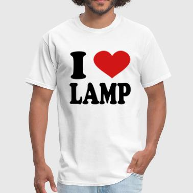 I Love Lamp - Men's T-Shirt