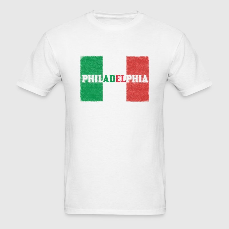 Philly Philadelphia Italian Flag - Men's T-Shirt