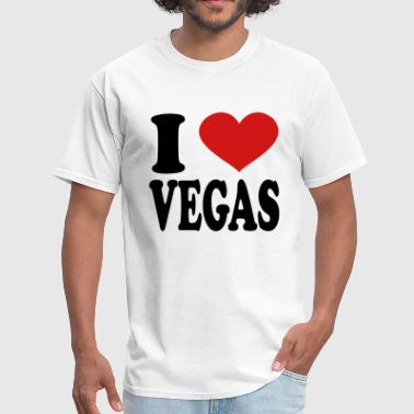 I Love Vegas i love vegas - Men's T-Shirt
