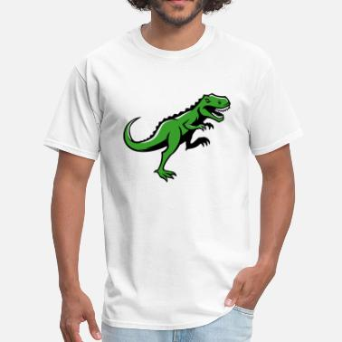 Angry Giant Angry T-Rex Running - Men's T-Shirt