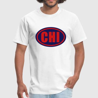 Chi Chicago Circle - Men's T-Shirt