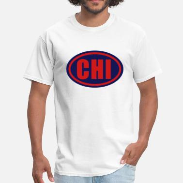 Chi Chicago Chi Chicago Circle - Men's T-Shirt