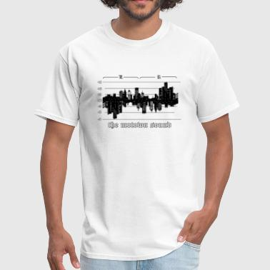 Motown Detroit Skyline Sound - Men's T-Shirt