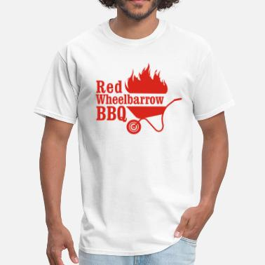 Mr Robot Red Wheelbarrow BBQ - Men's T-Shirt