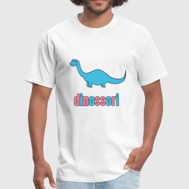 Dinosaur Lover Dinossori - Montessori for Dinosaur Lovers - Men's T-Shirt