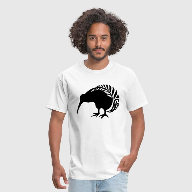 NZ KIWI SILVER FERN BIRD - Men's T-Shirt
