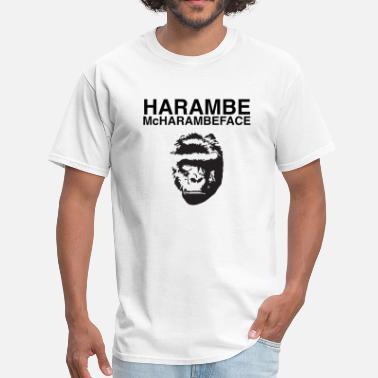 Justice For Harambe Harambe McHarambeface - Men's T-Shirt