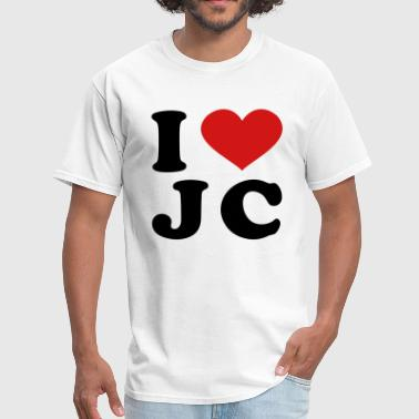 Jc I Love JC - Men's T-Shirt