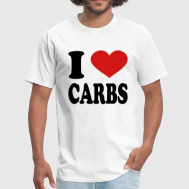 I Love Carbs I Love Carbs - Men's T-Shirt