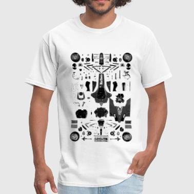Formula Car Deconstructed Formula 1 Car - Men's T-Shirt