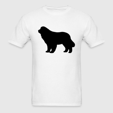 Newfoundland Dog - Men's T-Shirt