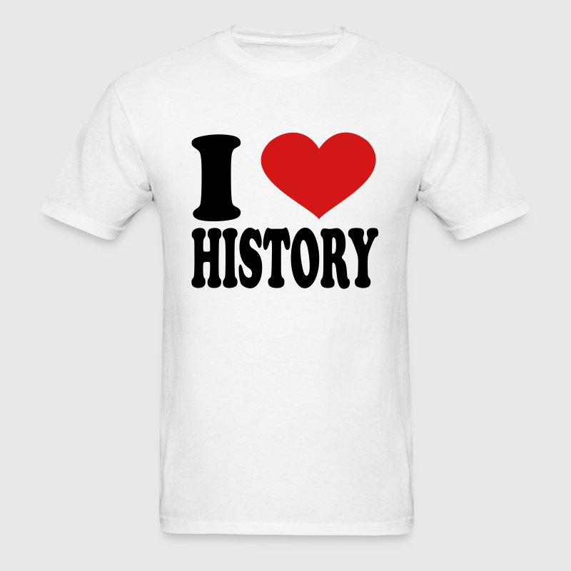 I Love History - Men's T-Shirt