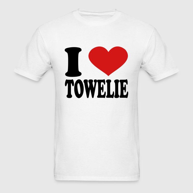 I Love Towelie - Men's T-Shirt