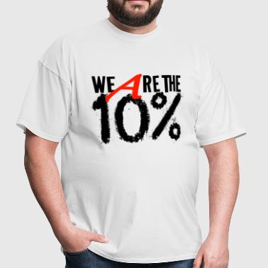 Ten Percent (black) - Men's T-Shirt