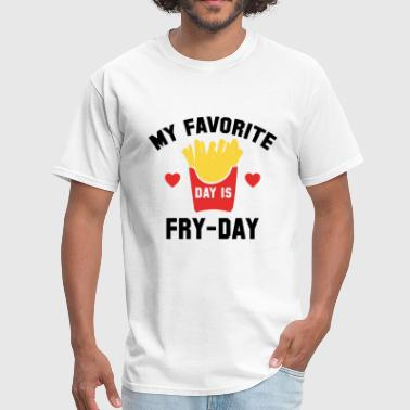 Its Fry-day Fry-Day - Men's T-Shirt