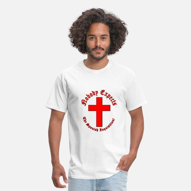 British T-Shirts - Spanish Inquisition - Men's T-Shirt white