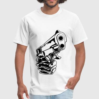 Gun In Hand - Men's T-Shirt
