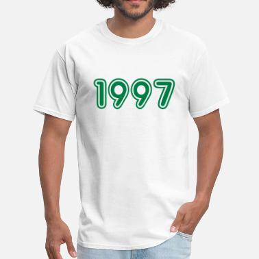1997 Year 1997, Numbers, Year, Year Of Birth - Men's T-Shirt