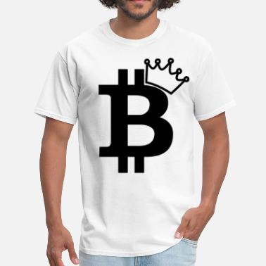 Kings Kid Kids Bitcoin King T Shirt - Men's T-Shirt
