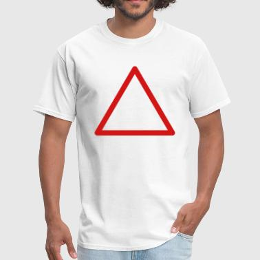 Danger sign rounded - Men's T-Shirt