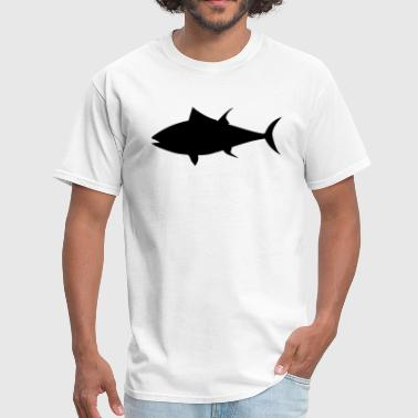 Tuna Fish Silhouette - Men's T-Shirt