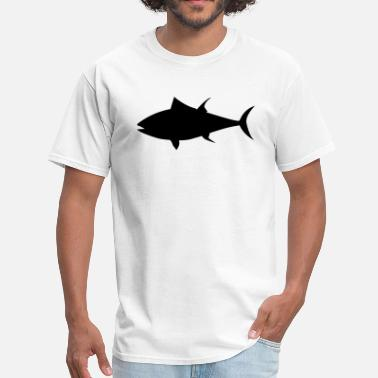 Tuna Fish Tuna Fish Silhouette - Men's T-Shirt