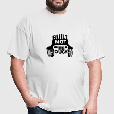 Built NOT Bought - YJ Square Lights - Men's T-Shirt