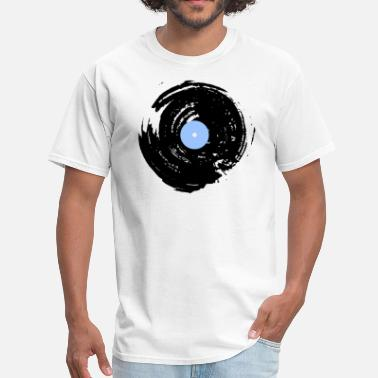 Spinning Records Vinyl record spin - Men's T-Shirt