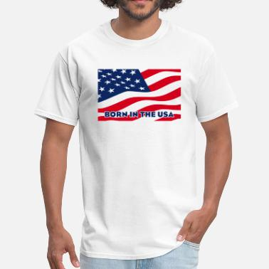 Uu Born in the USA - Men's T-Shirt