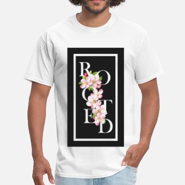 Root Religion Rooted faith based shirts - Men's T-Shirt