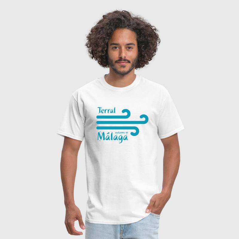 Welcome to Malaga 4 - Men's T-Shirt