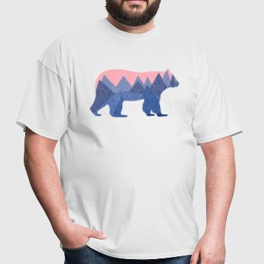 mountain bear - Men's T-Shirt