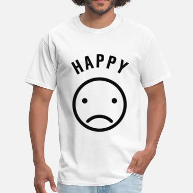 Sad Happy Happy But Sad - Men's T-Shirt