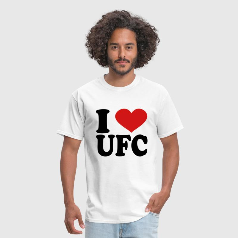 I Love Ufc - Men's T-Shirt