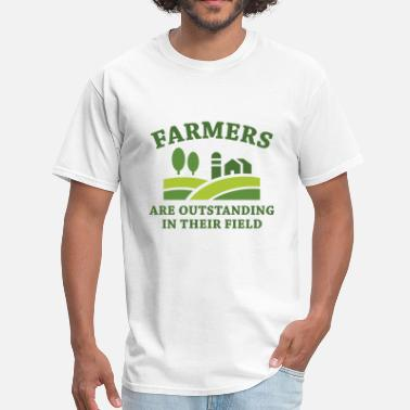 Farmers Wife Farmers - Men's T-Shirt