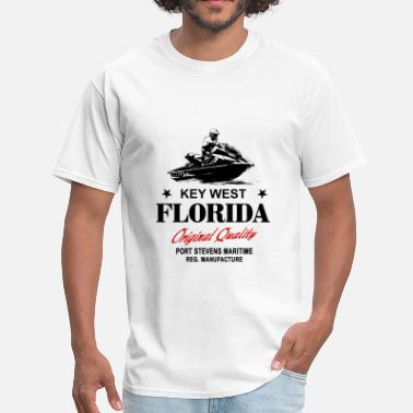 Key-west Jet Ski - Key West - Florida - Men's T-Shirt