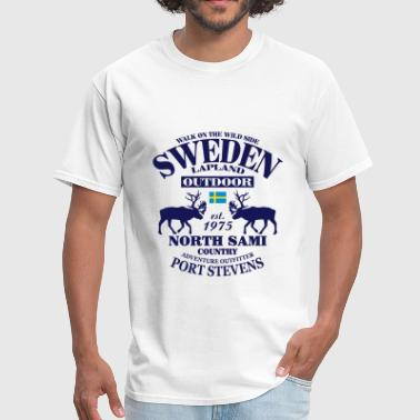 Swedish Lapland - Men's T-Shirt