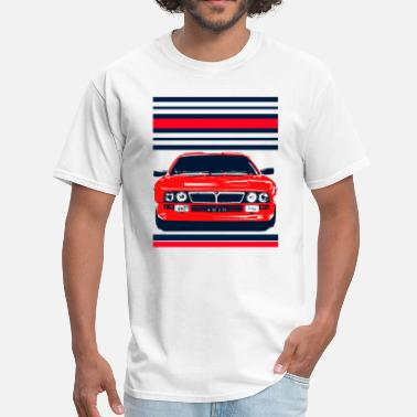 037 Rally racing cars - Men's T-Shirt
