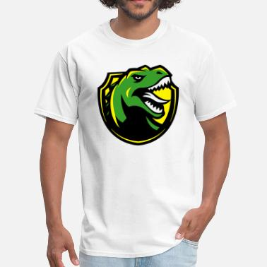 Angry Giant Angry T-Rex Logo - Men's T-Shirt