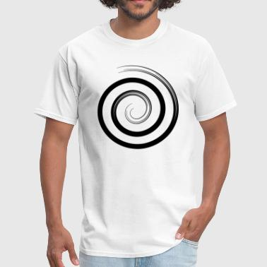 Snail spiral - black - Men's T-Shirt