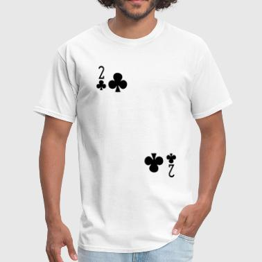 Two of Clubs - Men's T-Shirt