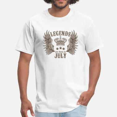Born In July Legends are born in July - Men's T-Shirt