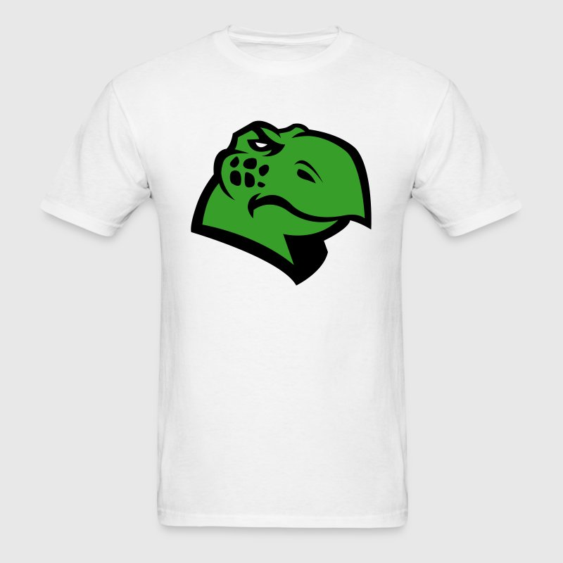 Angry Turtle Logo - Men's T-Shirt