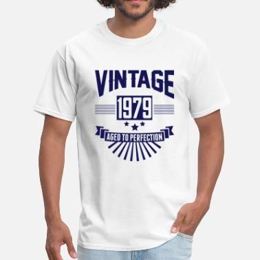 Vintage 1979 VINTAGE 1979 - Aged To Perfection - Men's T-Shirt