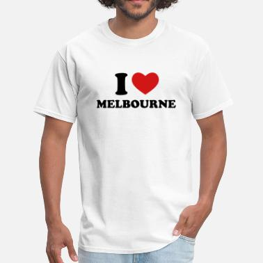 Melbourne I Love Melbourne - Men's T-Shirt