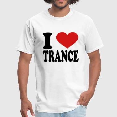 I Love Trance - Men's T-Shirt