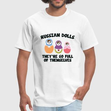 Russians Doll Russian Dolls - Men's T-Shirt