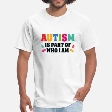 Awesome Autism Autism - Men's T-Shirt