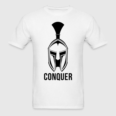 Conquer - Spartan - Men's T-Shirt